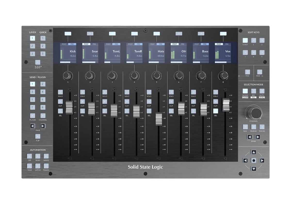 SSL UF 8 DAW Controller