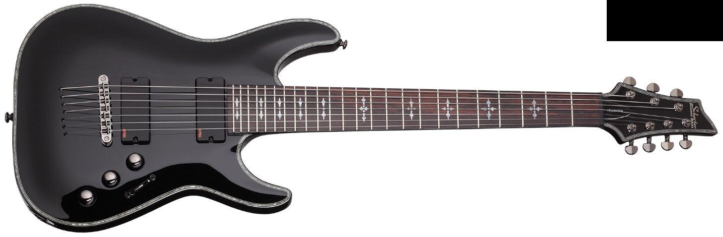 Schecter Hellraiser C 7 Black