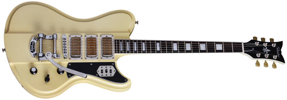 Schecter Ultra III Ivory Pearl