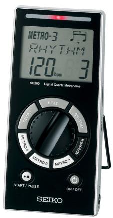 Seiko SQ 200 V Digital Quartz Metronom