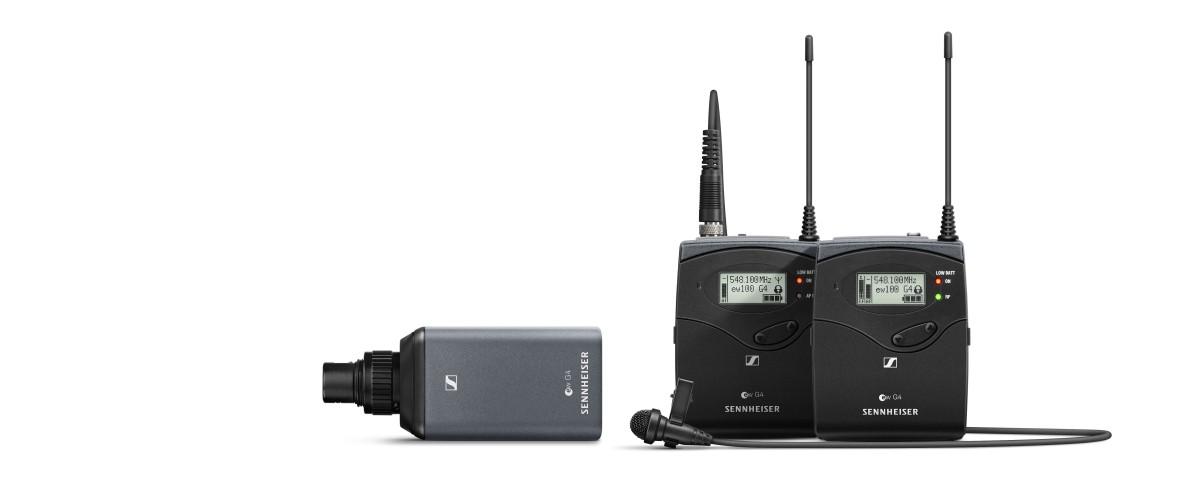 Sennheiser EW 100 ENG B G4 Portable ENG Combo Set
