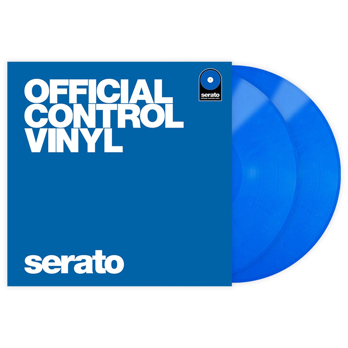 Serato Control Vinyl Performance Blue