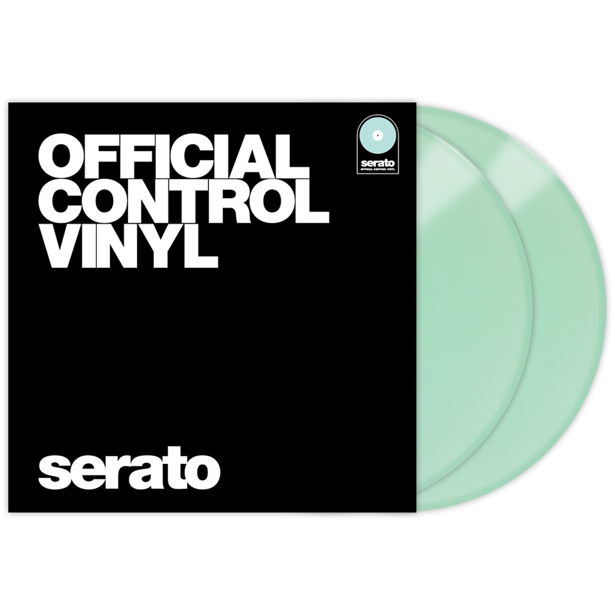 Serato Control Vinyl Performance Glow In The Dark
