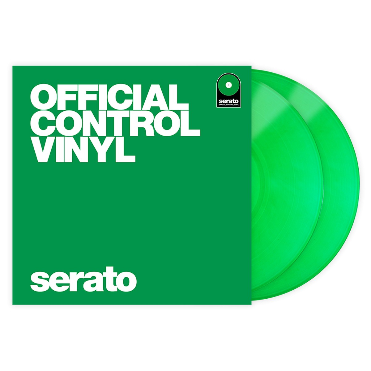 Serato Control Vinyl Performance Green