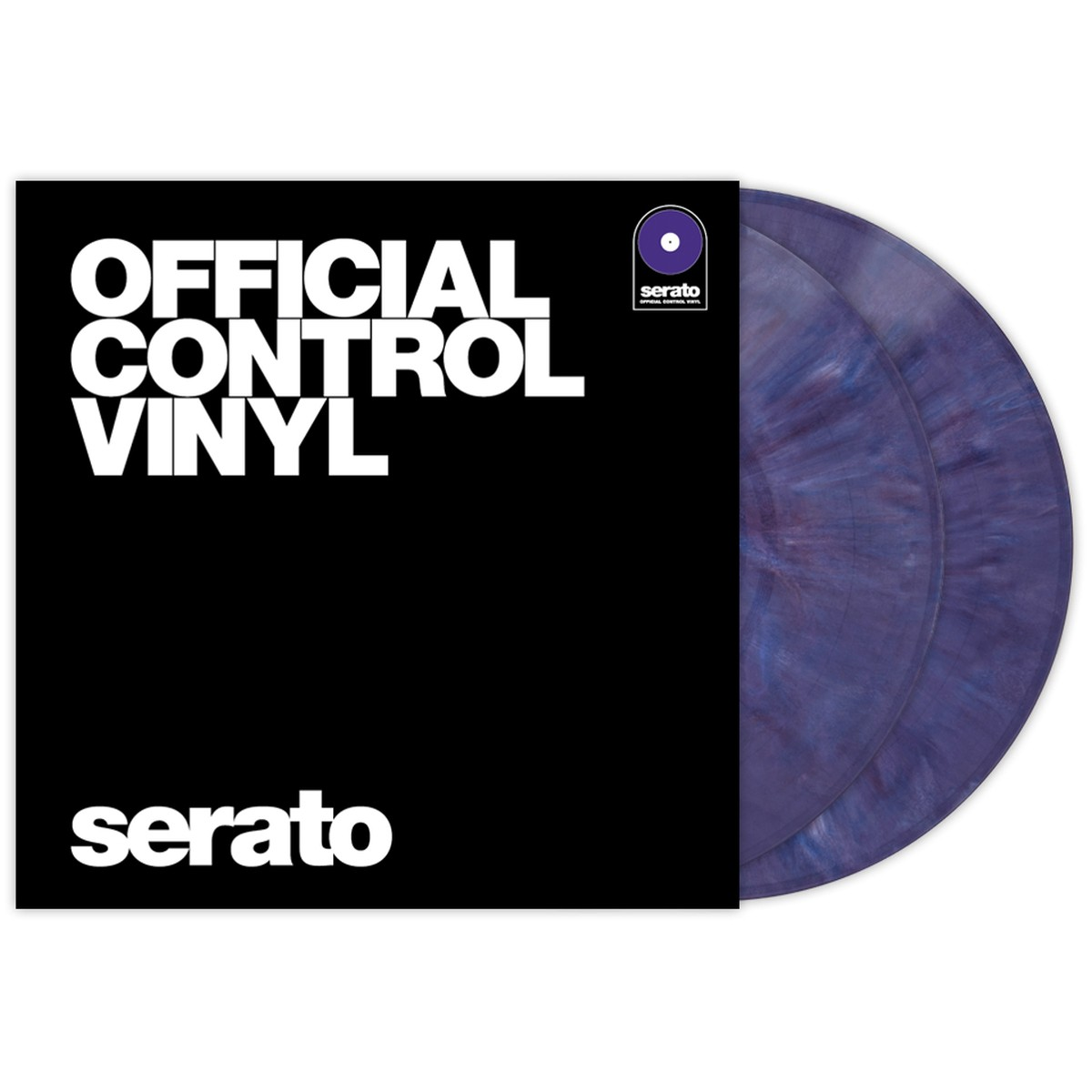 Serato Control Vinyl Performance Purple
