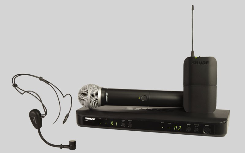 Shure BLX 1288E PG31 M17 PG Wireless Analog Combo
