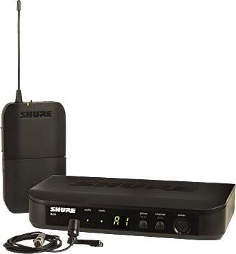 Shure BLX 14E CVL M17 Wireless Analog Lavalier