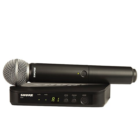 Shure BLX 24 E SM58 M17 SM Wireless Analog Vocal