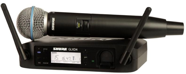 Shure GLXD 24 E B58 Z2 Beta Wireless Digital Vocal