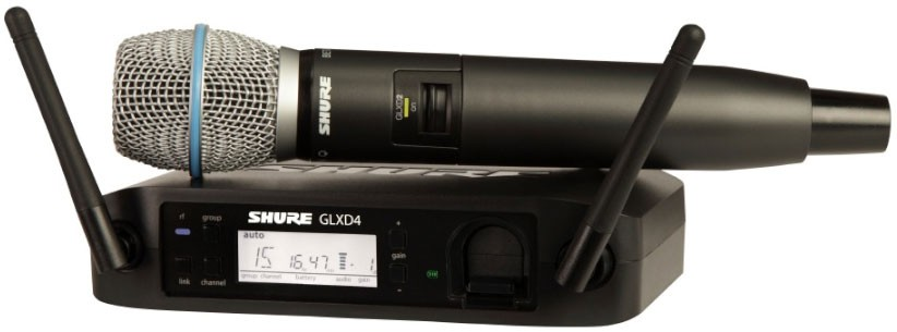 Shure GLXD 24 E B87A Z2 Beta Wireless Digital Voc