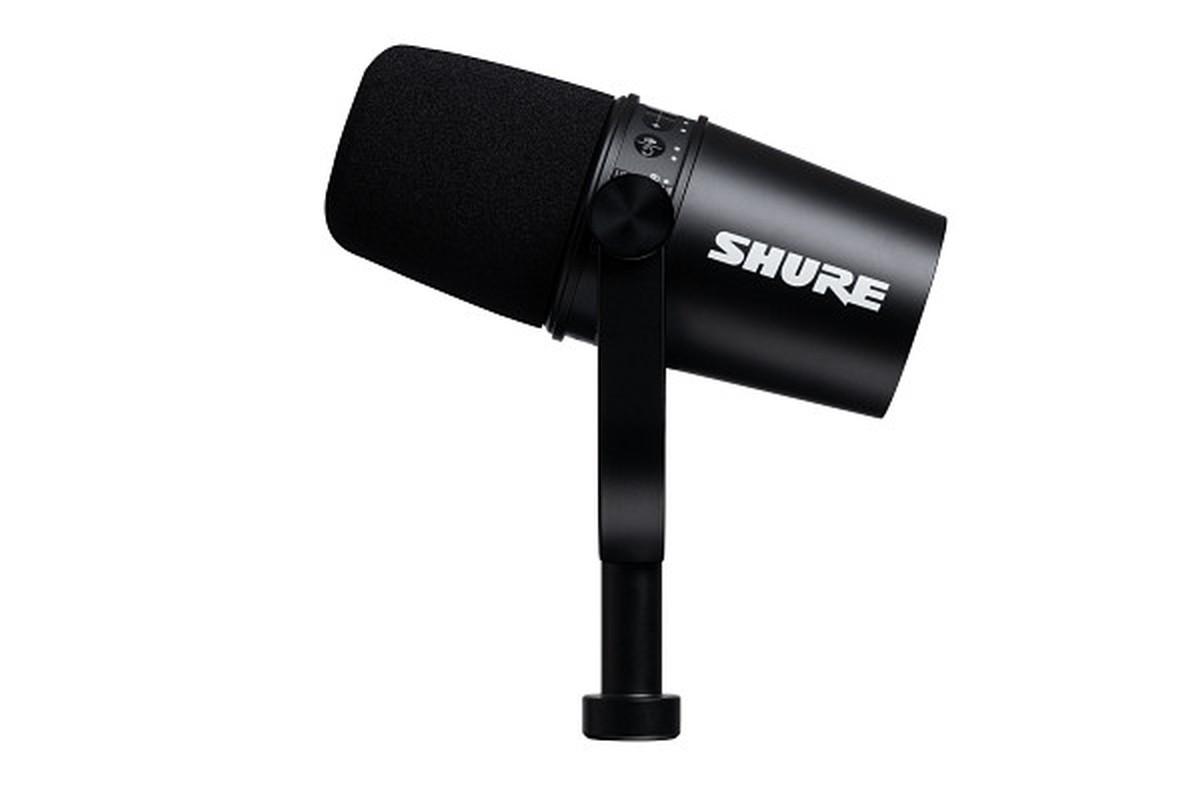 Shure Motiv MV 7 Black Podcast USB Mikrofon