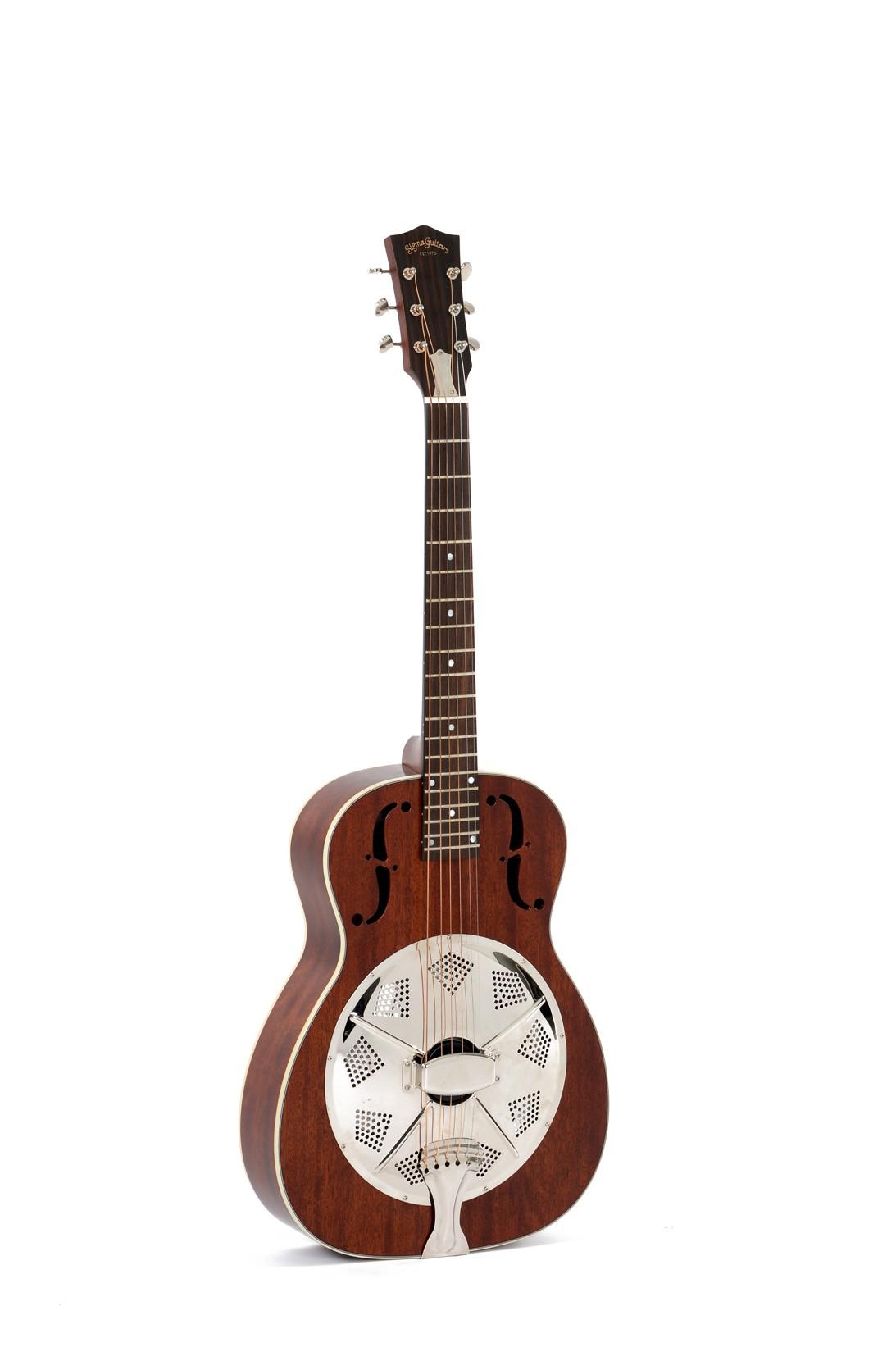 Sigma RM140  Resonator Akustikgitarre inkl  Gigbag