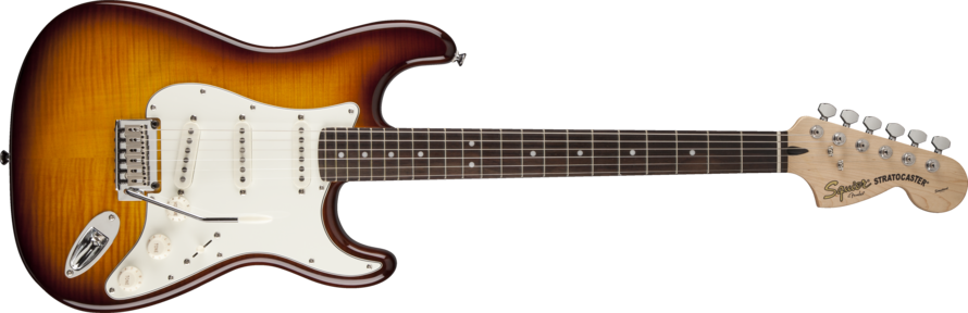 Squier Standard Stratocaster Flame Maple AT RW