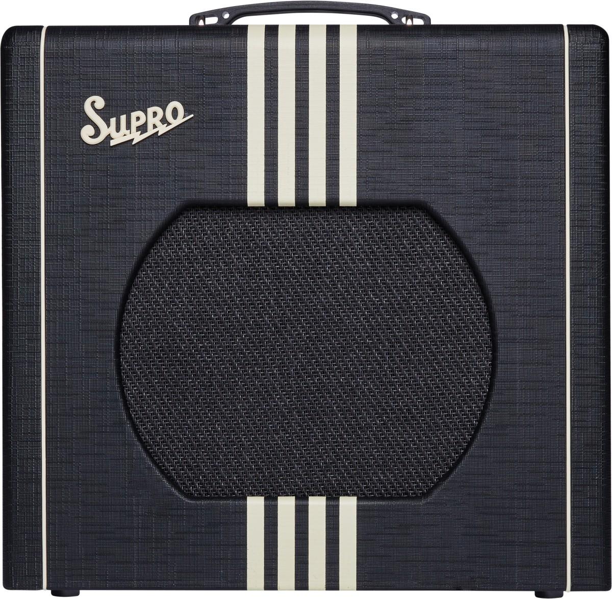 Supro Delta King 12 Combo 1x12 Black   Cream