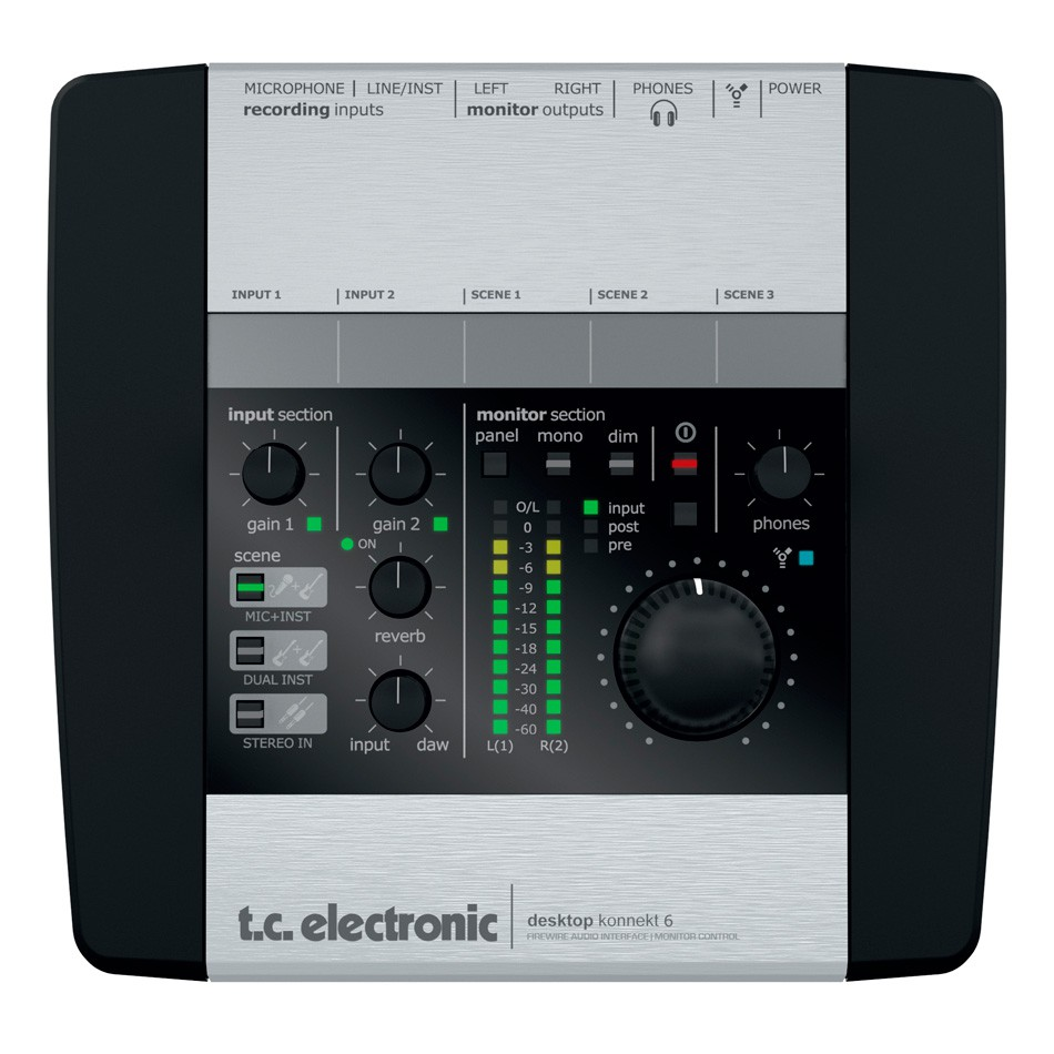 TC Electronic Desktop Konnekt 6