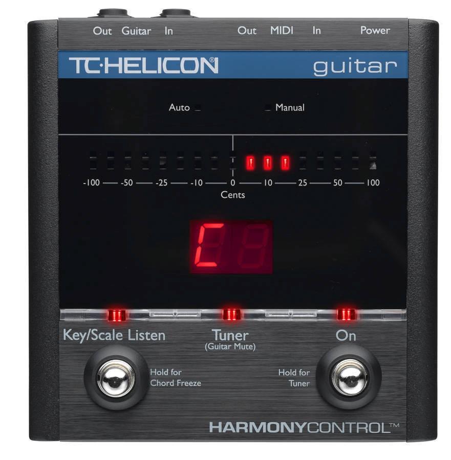TC Helicon HarmonyControl Guitar DEMO