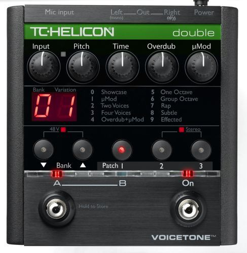 TC Helicon VoiceTone Double