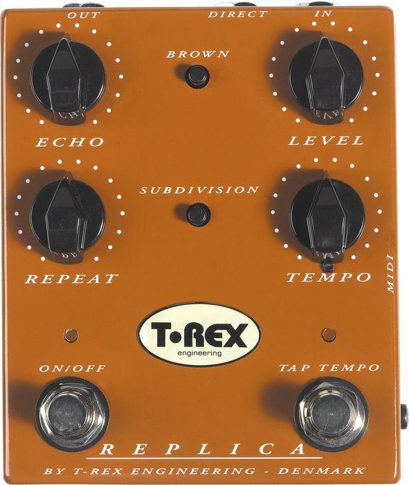 T Rex Replica Digital Delay inkl  Netzteil