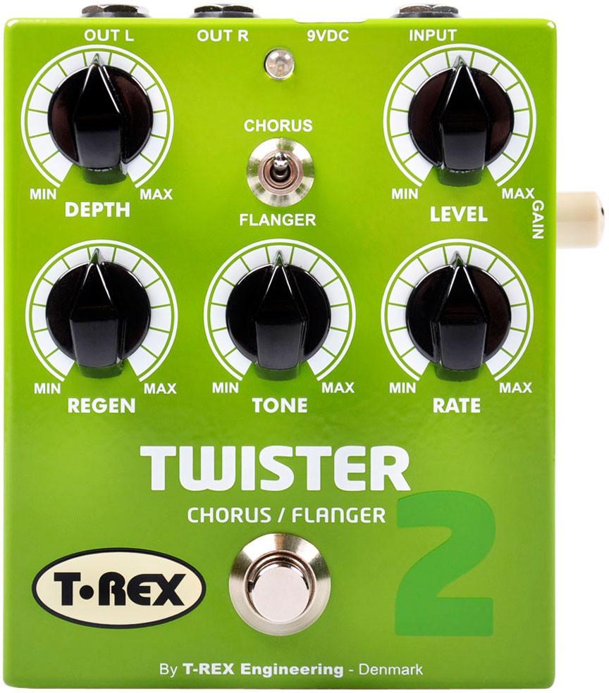T Rex Twister II Stereo Chorus   Flanger