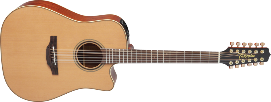 Takamine P3DC12 Dreadnought Natural Gloss