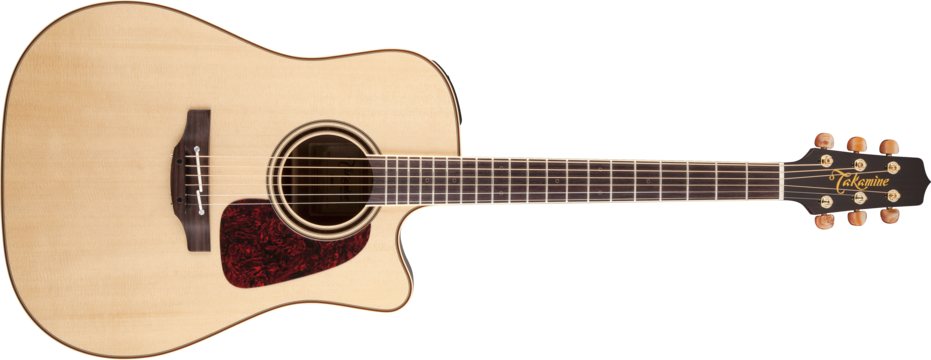Takamine P4DC Dreadnought Natural Gloss
