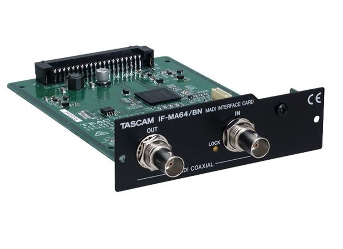 Tascam IF MA64BN MADICard f    r DA 6400  BCN