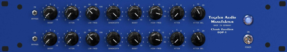Tegeler Audio Classic Tube Equalizer EQP 1