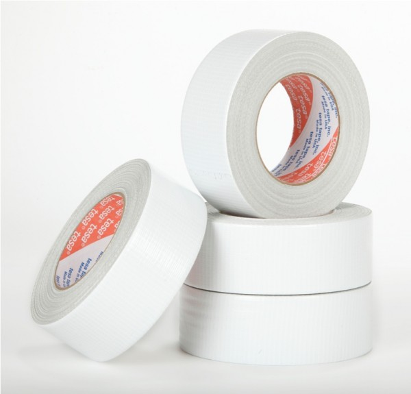 Tesa Gaffa Tape Weiss Standard