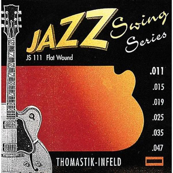 Thomastik JS111 11 47 Flat Wound Ac  Jazz Swing