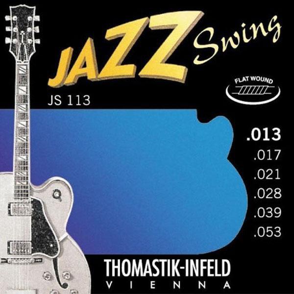 Thomastik JS113 13 53 Flat Wound Ac  Jazz Swing