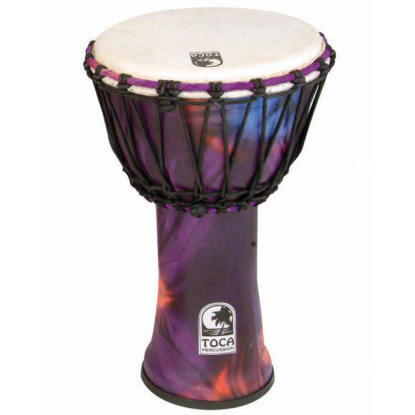 Toca SFDJ 7WP Djembe 7  Synergy Woodstock Purple