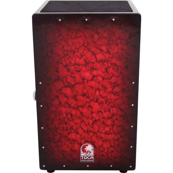 Toca TCAJ BB Wood Cajon Bordeaux Red
