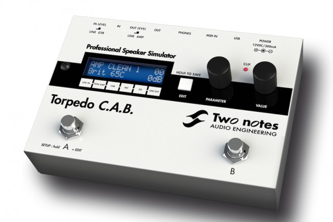 Two Notes Torpedo C A B