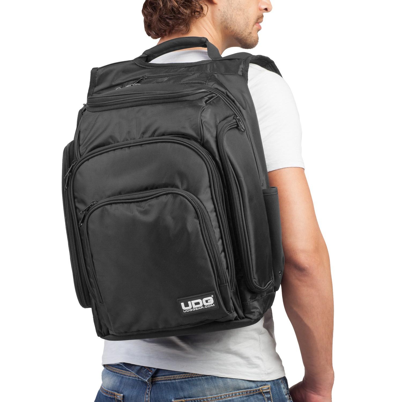 UDG Digi Backpack Black  Orange U9101BL OR