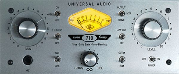 Universal Audio 710 TF Twin Finity Mic Pre