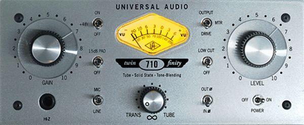 Universal Audio 710 TF Twin Finity Mic Pre
