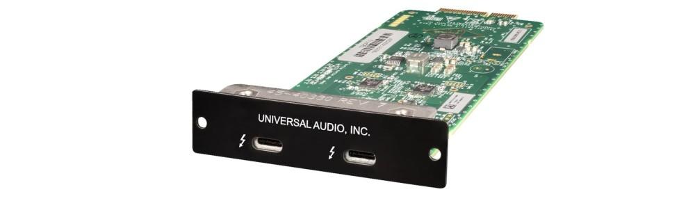 Universal Audio Apollo Thunderbolt 3 Option Card