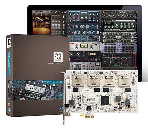Universal Audio UAD 2 Quad Core PCIe Karte