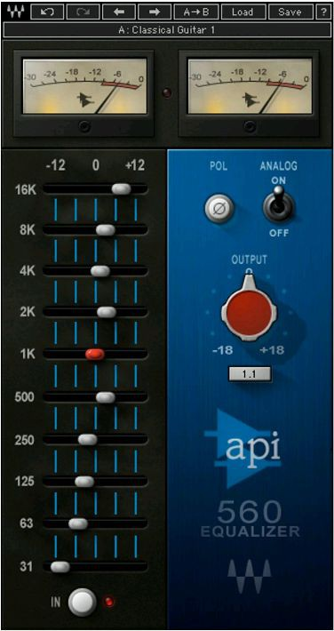 Waves API 560 License