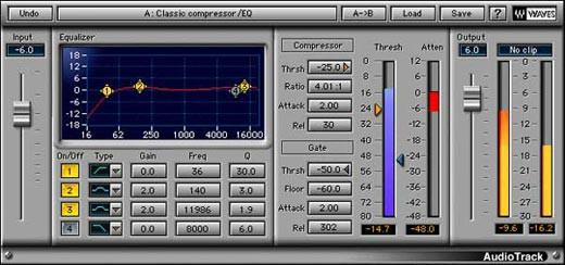 Waves Audiotrack Native License