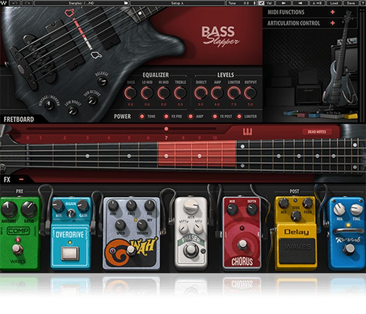 Waves Bass Slapper License Bundle