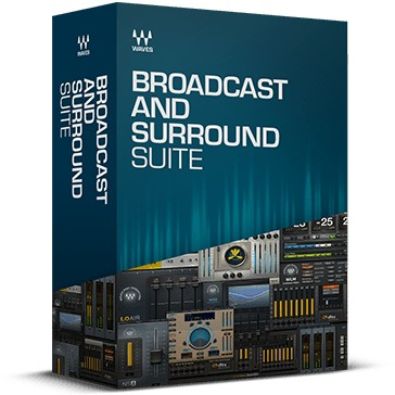 Waves Broadcast and Surround Suite License Bundle