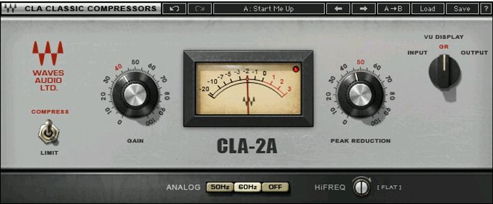 Waves CLA 2A License