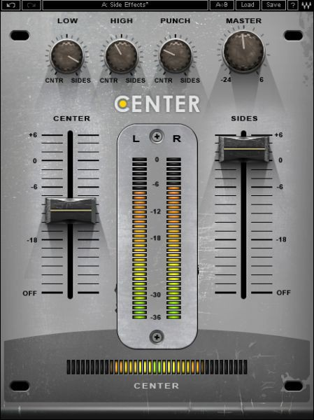 Waves Center License