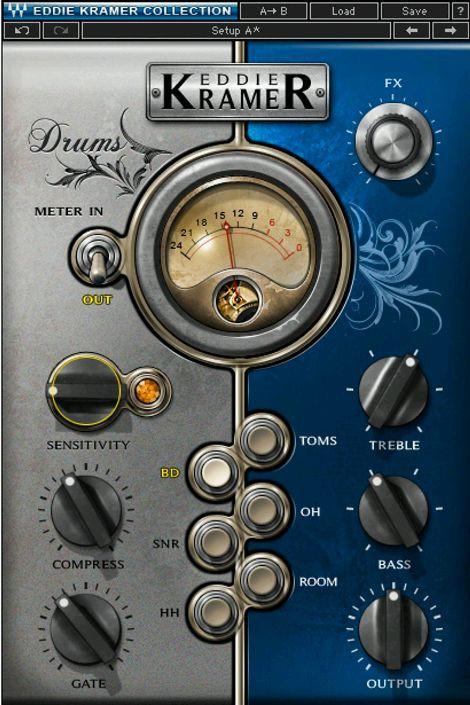 Waves Eddie Kramer Drum Channel License