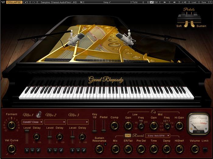 Waves Grand Rhapsody Piano License
