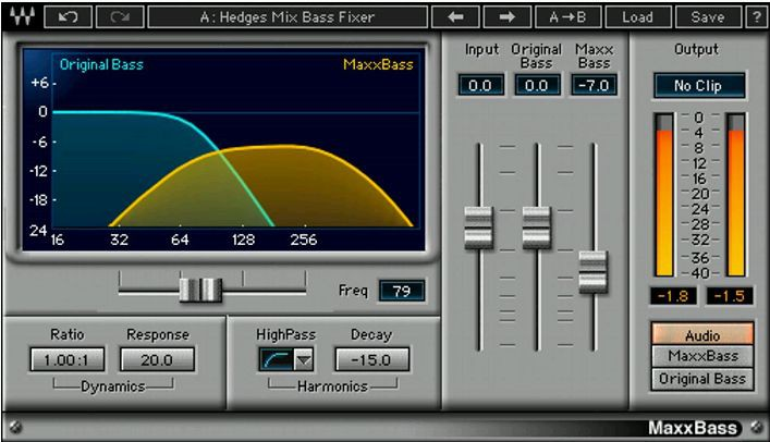 Waves Maxx Bass License