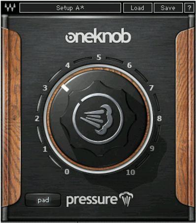 Waves One Knob Pressure License