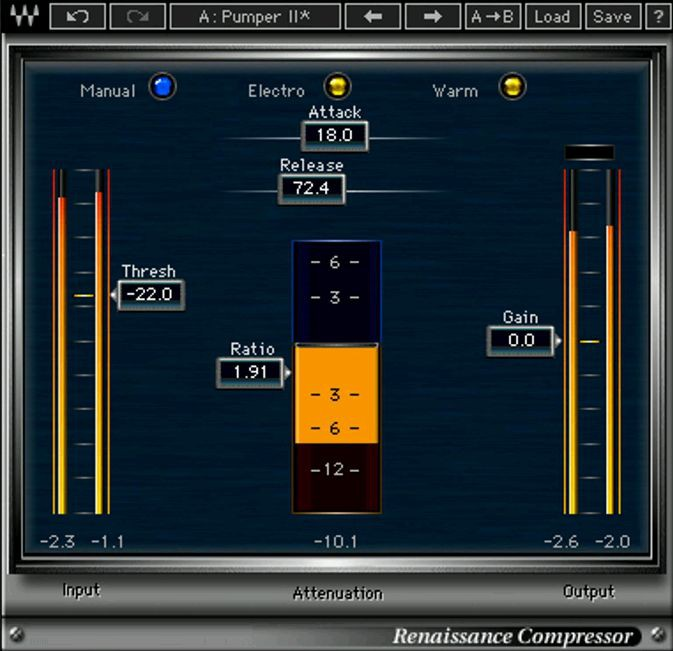 Waves Renaissance Compressor License