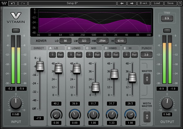 Waves Vitamin Sonic Enhancer License